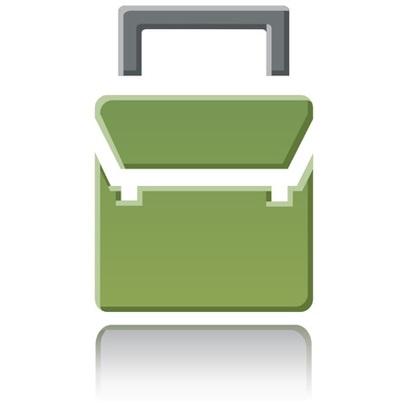 간단한 광택 학교 아이콘