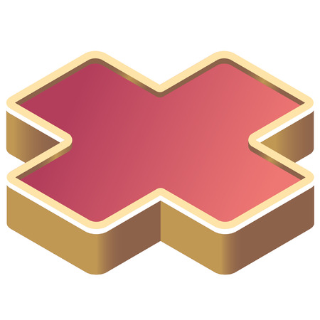 disaster prevention: isometric disaster prevention symbol icon Illustration