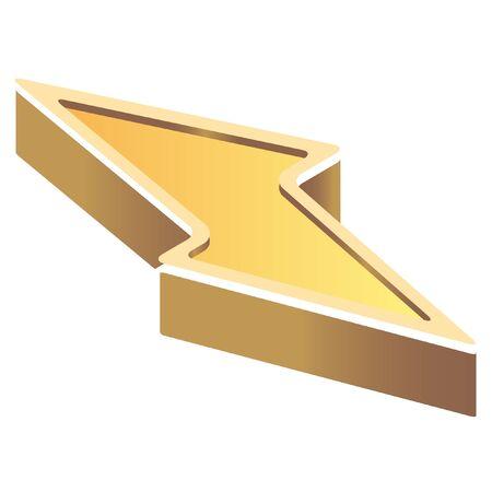 prevention: isometric disaster prevention symbol icon Illustration