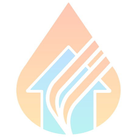 disaster: minimalist disaster fire  icon Illustration