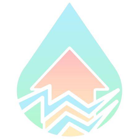 earthquake: minimalist disaster earthquake icon