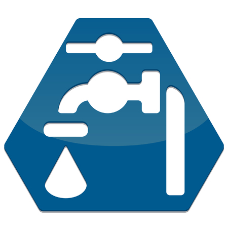 preparations: simple glossy safety icon