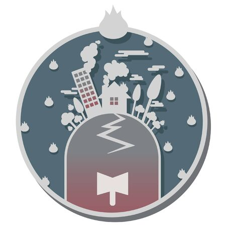 calamity: disaster calamity icon