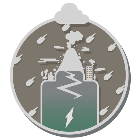 disaster: disaster calamity icon