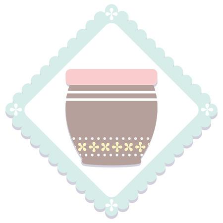 シンプルなパステル キッチン アイテム アイコン 写真素材 - 62888990
