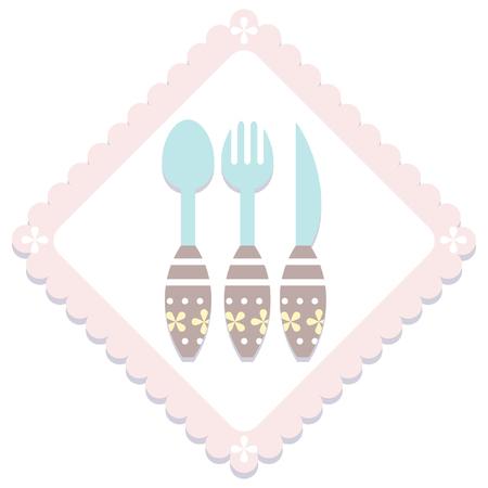 item: simple pastel kitchen item  icon