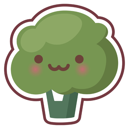 chibi: cute chibi kitchen item icon Illustration