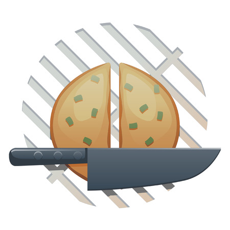 hot of the grill food icon
