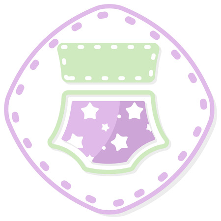 stitched baby item icon