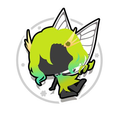 風魔法の妖精アイコン