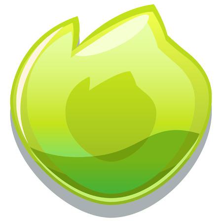 gale: elemental glossy icon