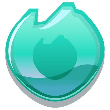 elemental: elemental glossy icon