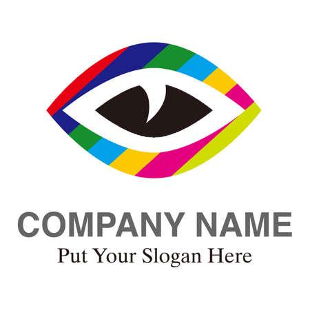 Corporate logo design ideas. Trust and development. Leap. Logo design template element. Vector