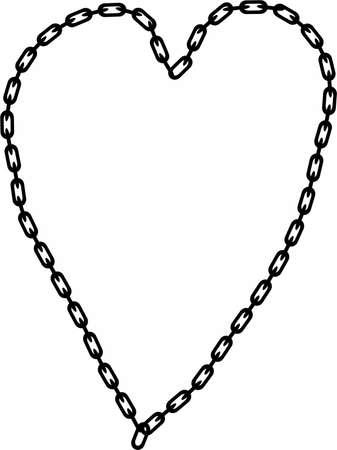 geketend: Ketens in hart vorm (chains of love)