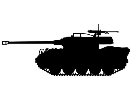 WW2 Series - American M18 Hellcat Tank Destroyer  Vector