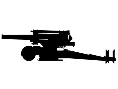 allied: WW2 Series - Italian 210mm howitzer heavy artillery