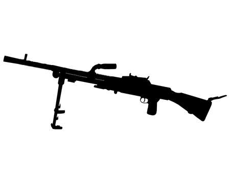 allied: WW2 Series - Czechoslovakian Lehky Kulomet ZB machine gun  Illustration