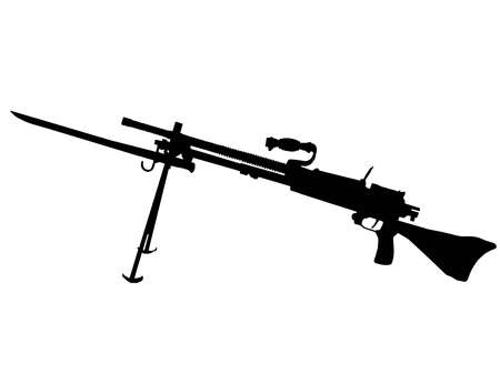 allied: WW2 Series - Japanese Type 96 light machine gun