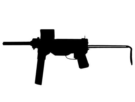allied: WW2 Series - America M3 Crease Gun sub-machine gun  Illustration
