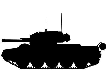 WW2 Series - British MK VI Crusader III Tank  Vector