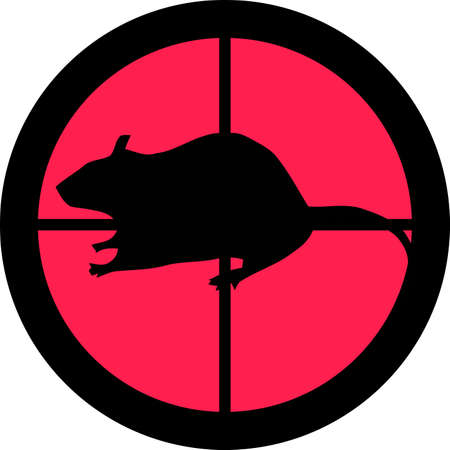 get tired: In the scope series - Rat in the crosshair of a gun�s telescope. Can be symbolic for need of protection, being tired of, intolerance or being under investigation.