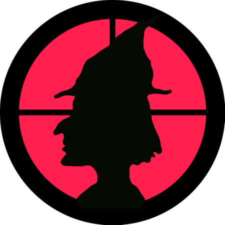 hunt: In the scope series - Witch in the crosshair of a gun�s telescope. Can be symbolic for need of protection, being tired of, intolerance or being under investigation.