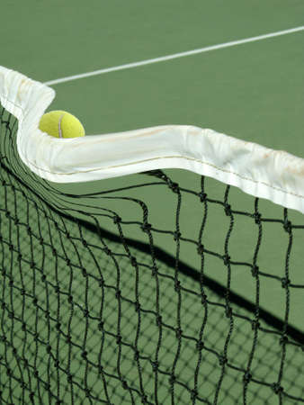 cause: Mighty Serve cause tennis ball to bend the net cable