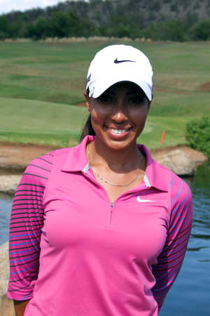 WOODS, CHEYENNE - NOVEMBER 17: Professional Golfer Playing at Gary Player Charity Invitational Golf Tournament at event ceremony November  17, 2013, Sun City, South Africa. Cheyenne Woods is a niece of Tiger Woods.