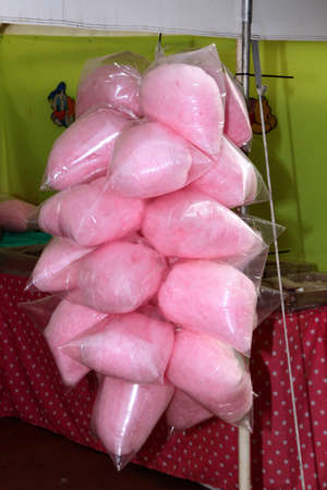 rustenburg: RUSTENBURG, SOUTH AFRICA - MAY 25: Candy Floss on Sale at Stall at Rustenburg Fair on May 25, 2014 in Rustenburg South Africa. Editorial