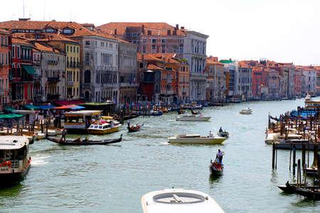 venice italy: Venice Italy Canal View