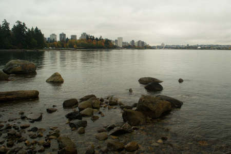 stanley: The coast around Stanley park in Vancouver.