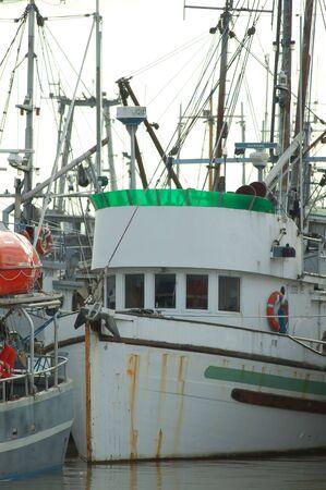 Docked Fishboat