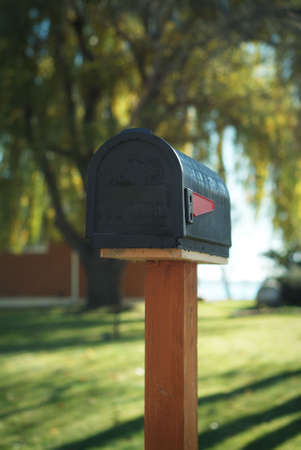 US Mailbox Stock Photo