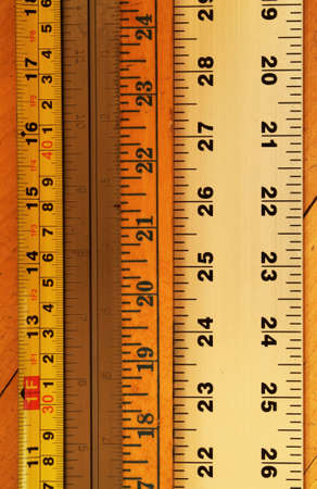 close up of various rulers Imagens - 376054