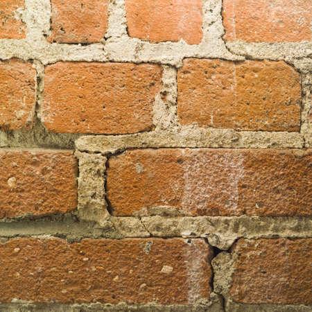 벽돌 벽 외부 표면의 스튜디오 샷