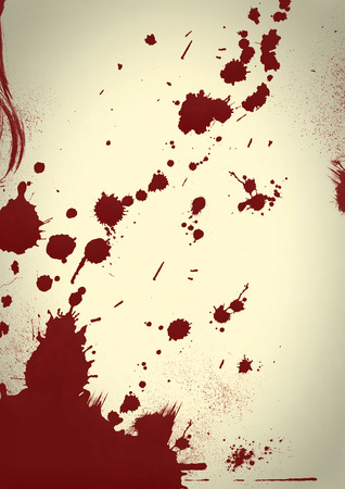 bloodstains: Blood splatter Background