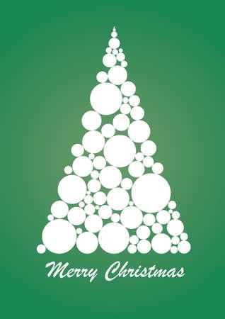 Abstract Christmas Tree photo