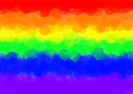 derechos humanos: Arco iris del orgullo gay abstracta bandera