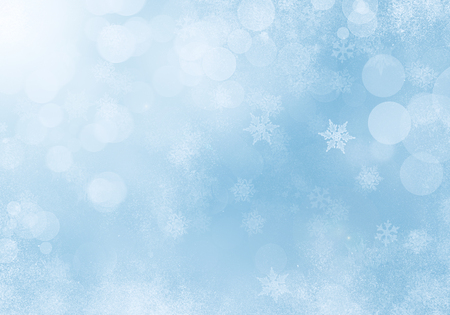 winter background: Abstract Winter Background