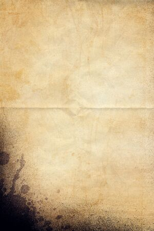 raged: Old Vintage Paper Texture Stock Photo