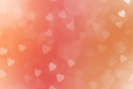 Pink Valentine's Day Abstract Background photo