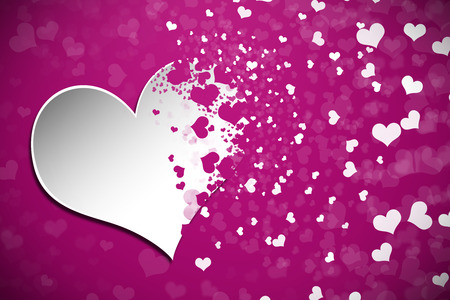 Abstract Valentines Day Background photo