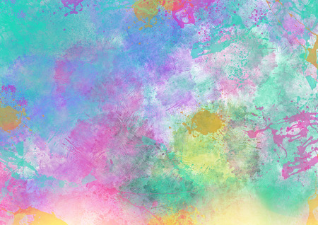 Colorful Abstract Splatter Background Фото со стока