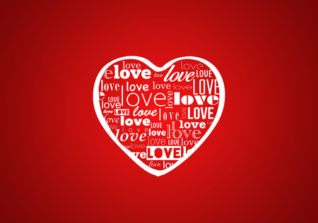 Heart for Valentines Day Background photo