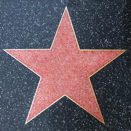 Paseo de la fama Blank Star