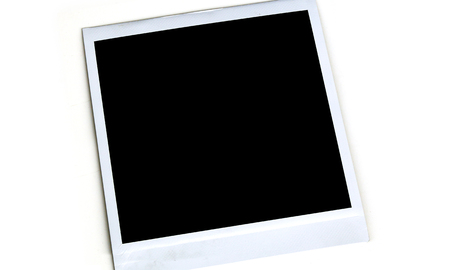 Blank Picture Frame on White Background 1