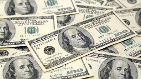 Full Screen Money Pile of 100 Dollar Bills