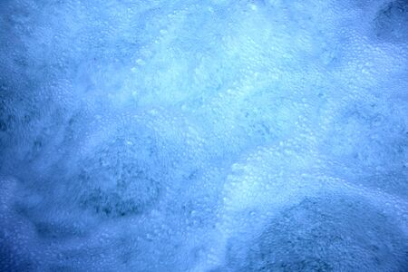 White Water Foam Bubbles Texture
