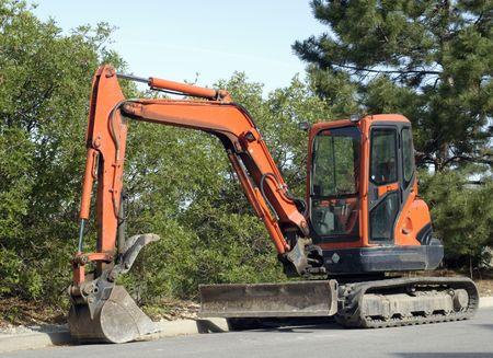 mini excavator with hydraulic thumb