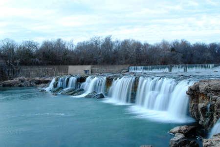 Soothing Waterfall Banco de Imagens